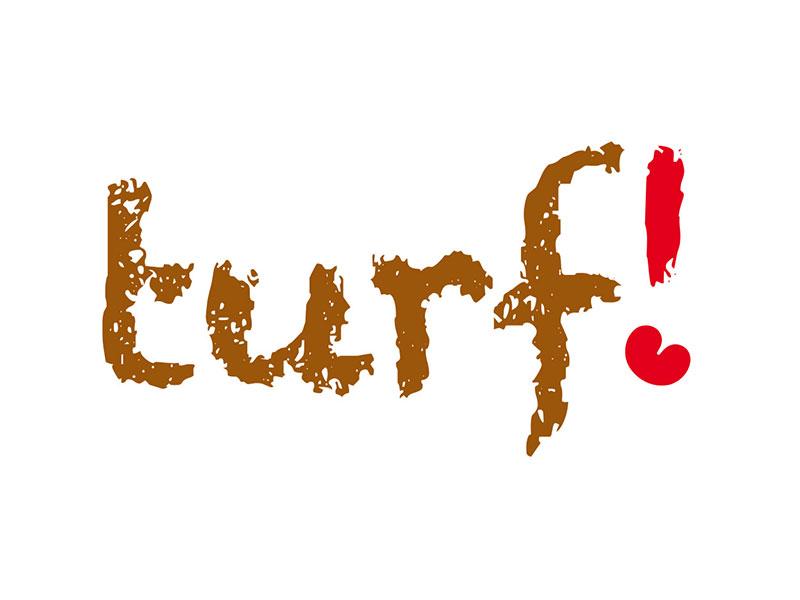 Turf! staat naar een idee van Friesland Holland-directeur Albert Hendriks voor gaaf, cool, lekker en typisch voor de verveningsgebieden in Oost- en Zuid-Friesland.